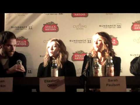 Cast of MARTHA MARCY MAY MARLENE at the 2011 Sundance Film Festival 1