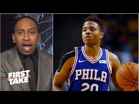 Markelle Fultz is the 'biggest bust in NBA history' - Stephen A. | First Take