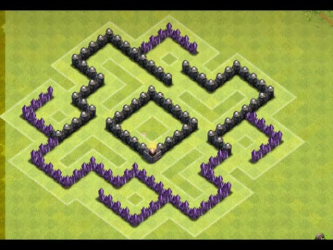 Base Coc Th 6 Labirin 1