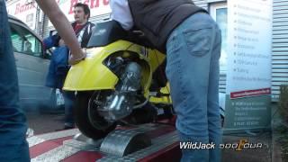 Dyno Run Vespa BSG 150cc 47.4 HP - Stefano Scauri