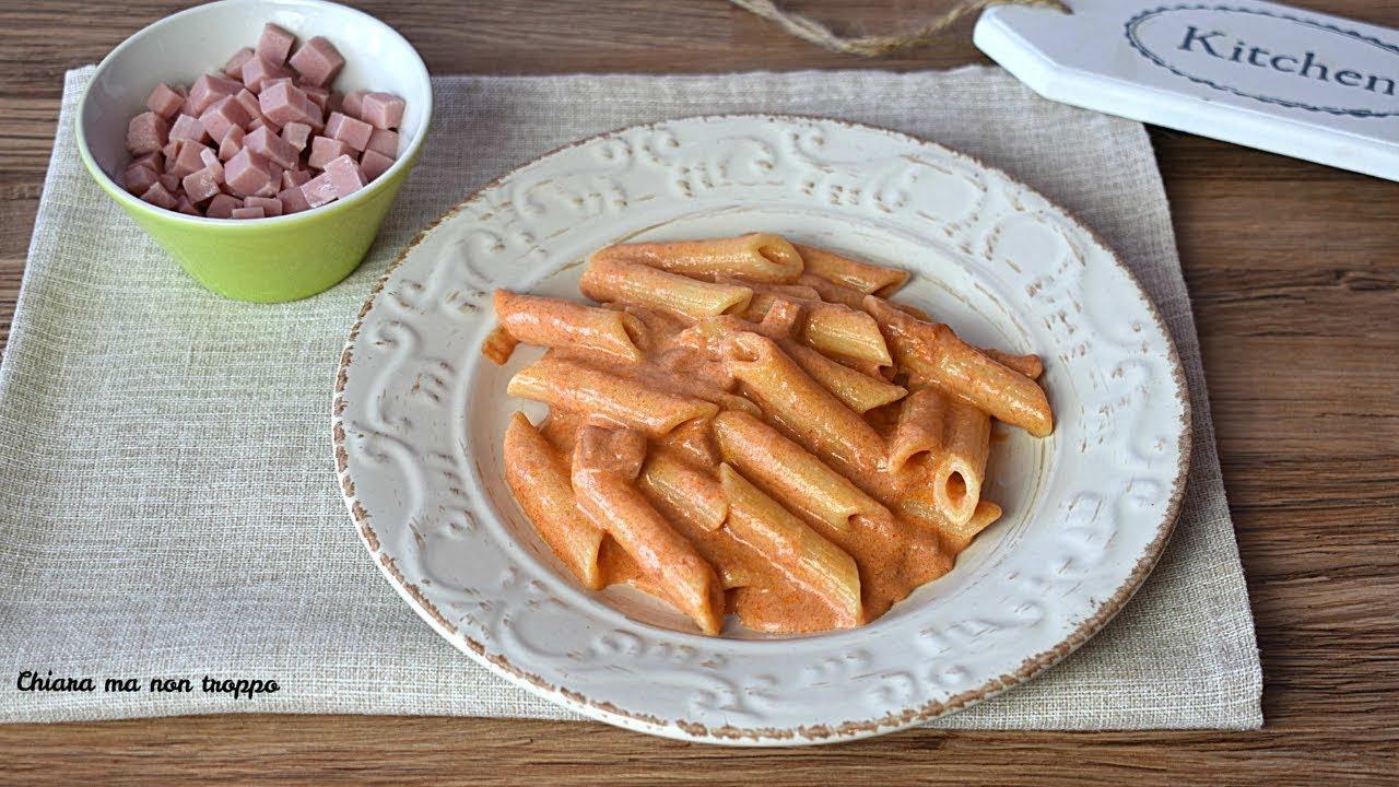 Cosa preparo per pranzo: Pasta cremosa con prosciutto cotto | RICETTA VELOCE | Divertirsi in cucina