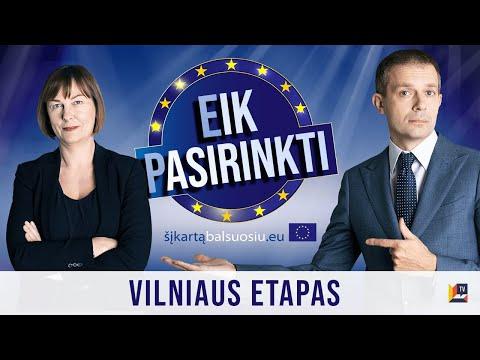 Eik Pasirinkti | Europos Parlamento kandidatų intelektualus žaidimas – debatai | Vilniaus etapas