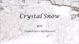 Video Crystal Snow - English KARAOKE (Piano Instrumental) - BTS download MP3, 3GP, MP4, WEBM, AVI, FLV Juli 2018