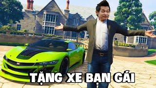(GTA V) Mua siêu xe tặng bạn gái Trang 2k, biệt đội Refund Auto thi nhau chạy sở cảnh sát.