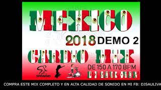 CARDIO MIX MEXICO 2018 DEMO #2 - DJSAULIVAN