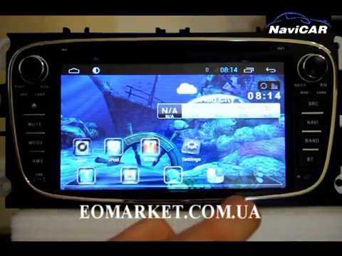 Штатная магнитола NaviCAR FORD MONDEO/FOCUS Android 4.2.2 141808