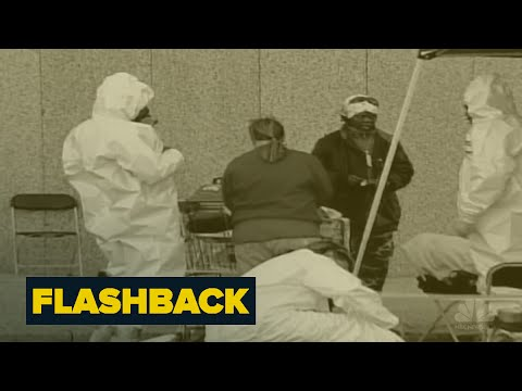 Anthrax Attacks | Flashback | NBC News