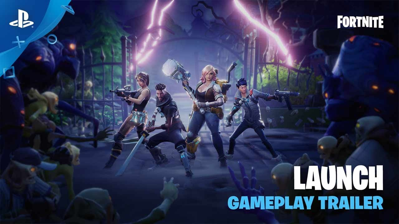 Fortnite - Gameplay-releasetrailer
