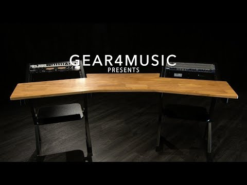 pro-audio-studio-desk-by-gear4music,-12u-|-gear4music
