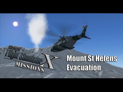 FSX/Flight Simulator X Missions: Mount St Helens Evacuation
