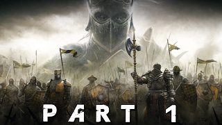 FOR HONOR Walkthrough Gameplay Part 1 – Warlords (Knight Campaign)