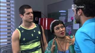 Ven Baila Quinceañera - Lucas trata de humillar a Dani - 08/12/2015