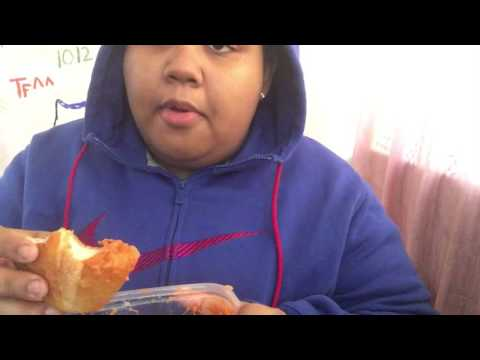 ASMR/ Mukbang #11 Lobster Ravioli, Chicken and Bread Eating Sounds And Soft Speaking!!!!