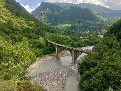 На Дастере по Абхазии. Часть 7: Рица и Малая Рица, Ткуарчал, Акармара, водопады