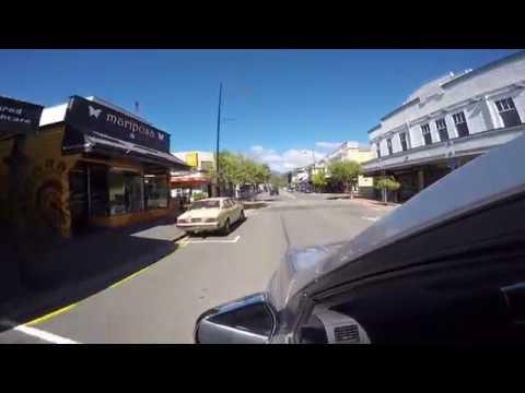 Drive through Nelson, New Zealand