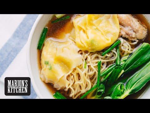 Wonton Chicken Noodle Soup Marion's Kitchen