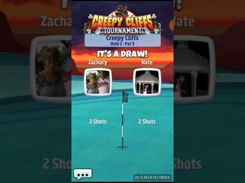 Golf clash creepy cliffs expert tournament holes 10-13