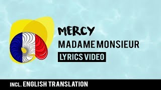 France Eurovision 2018: Mercy - Madame Monsieur [Lyrics] Incl. English translation!