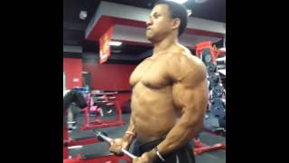 Muscle pump 3 days out Martae Ruelas
