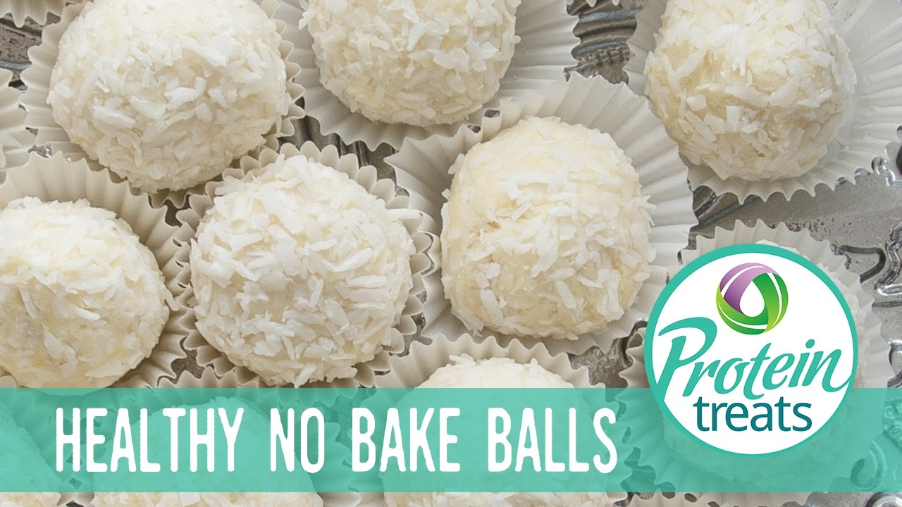 Christmas No-Bake Energy Balls - Protein Treats by ...