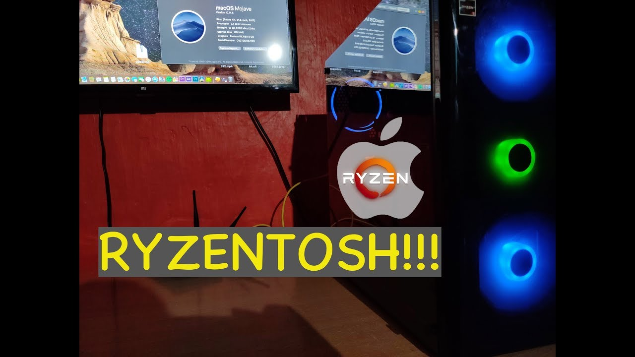 Mac Os On Ryzen!!!Install Mac Os Mojave Easily On Ryzentosh