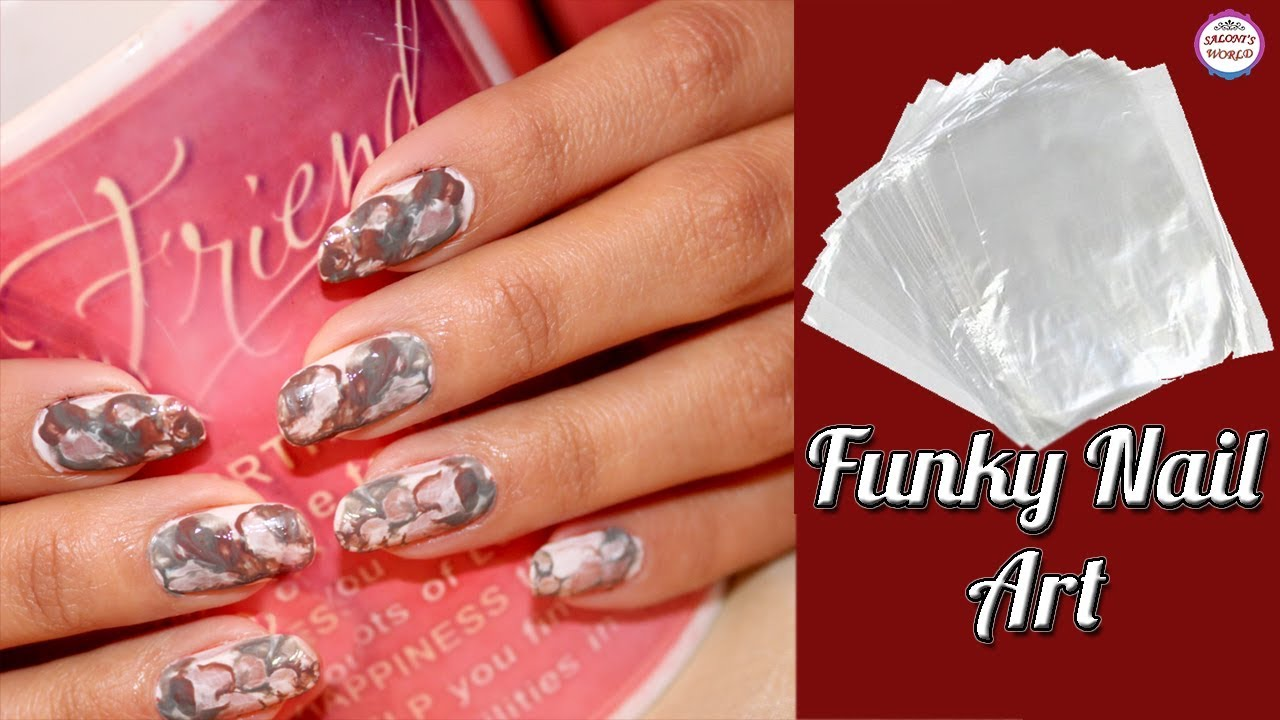 😍Funky Nail Art Compilation 2018 💅😱 With Plastic Wrap Without ...