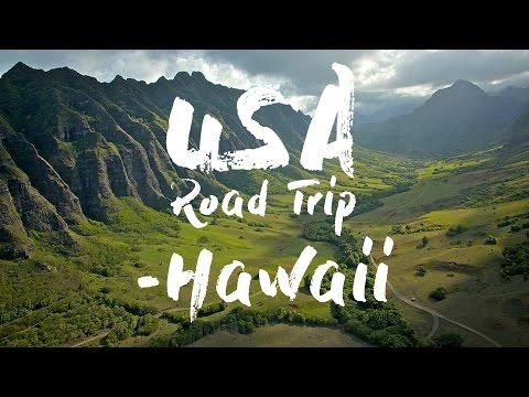 USA Road Trip 2016 - Hawaii Drone Footage