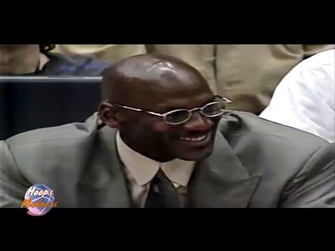Michael Jordan's Reaction to Dennis Rodman's 3 Point Attempt!