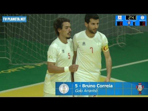 Resumo Futsal: PREGANÇA 2x3 ARRANHÓ - 1ª Divisão AFL 2018/19
