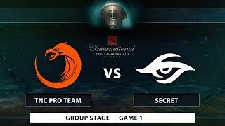 TNC Pro Team vs Team Secret | Game 1 | Groupstage | PH Coverage