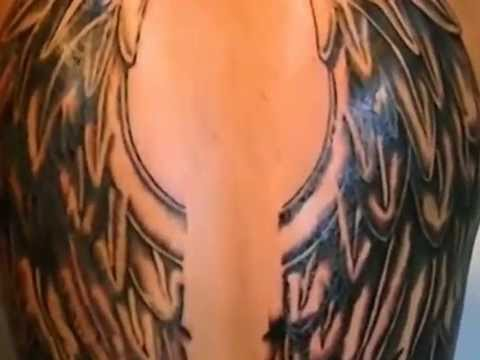 Tatuaje Alas De Angel En Espalda Youtube