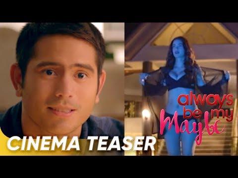 Cinema Teaser | 'Always Be My Maybe' | Gerald Anderson, Arci Muñoz | Star Cinema