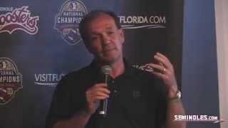 Jimbo Fisher Speaks to Atlanta Seminole Club