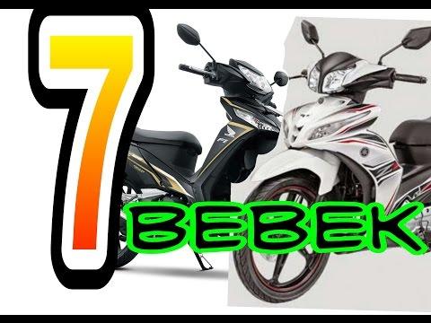 Tujuh Motor Bebek Terbaik di indonesia