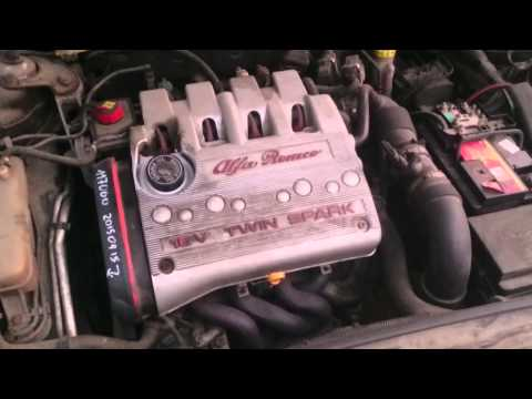 Alfa romeo 147 1.6 TS 120HP Engine Noise Problem (FIXED)
