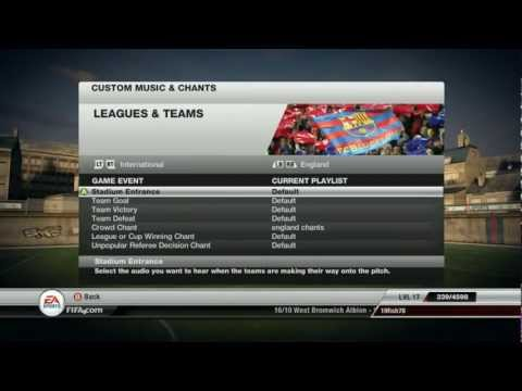 Fifa 12 PC - Custom Chants Tutorial [PC HD]