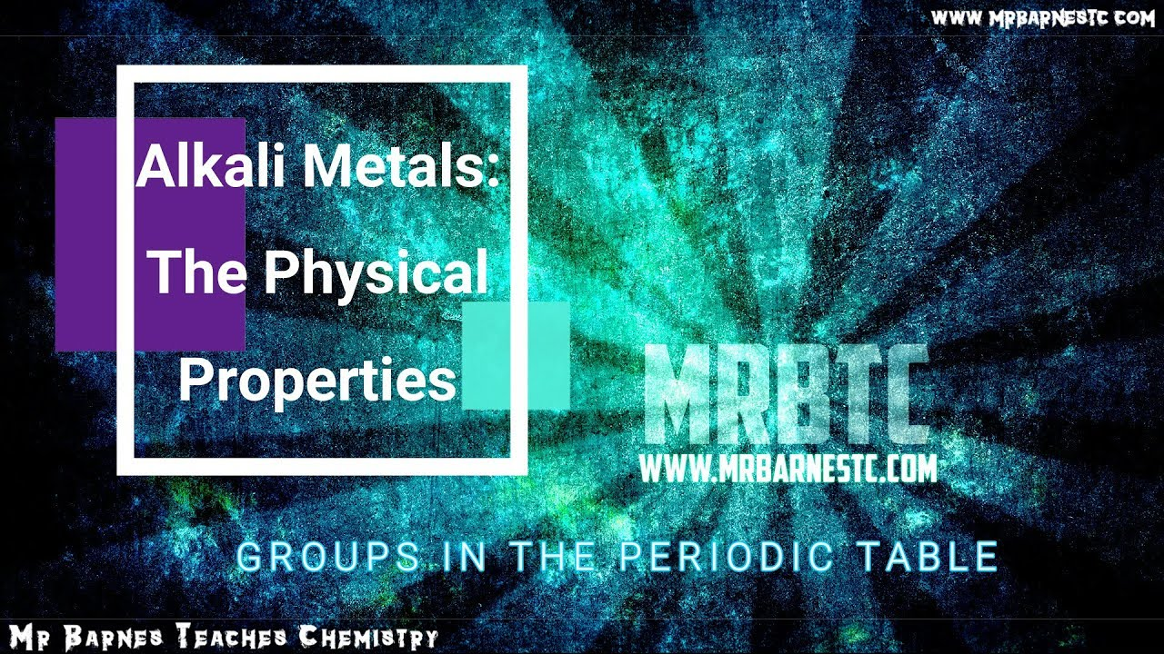 The physical properties of the alkali metals youtube the physical properties of the alkali metals urtaz Images