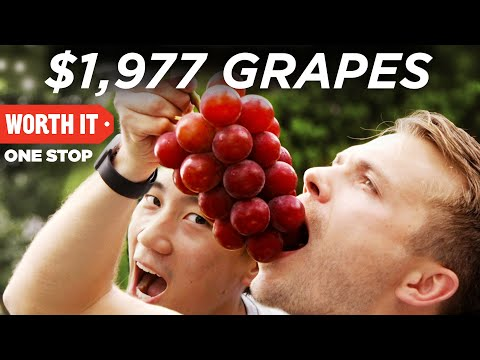 Thumbnail: $1,977 Japanese Grapes