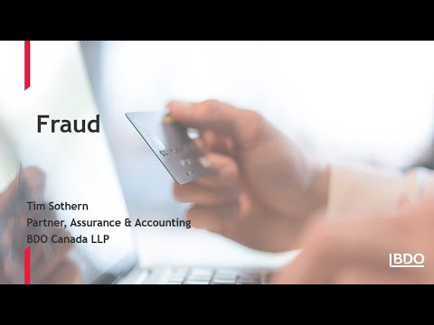 How NPOs can reduce the risk of fraud | BDO Canada