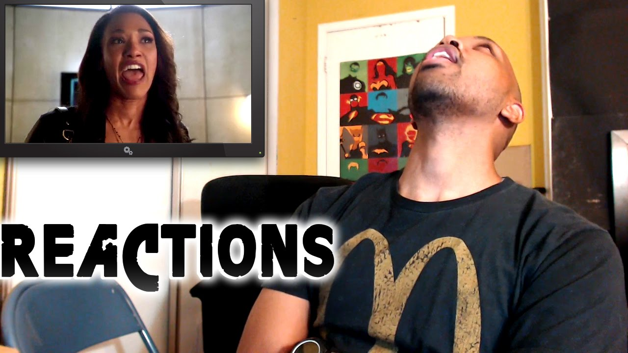 REACTIONS: Flash Season 1 Episode 21 Iris & Banana Scenes 1x21