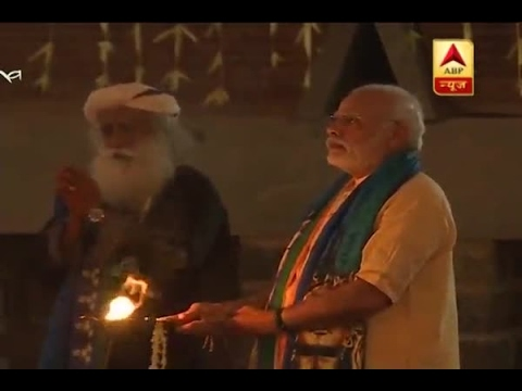 Coimbatore: PM Modi unveils 112 feet tall idol of Shiv Ji on Mahashivratri