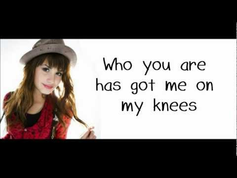 Demi Lovato - Falling Over Me (LYRICS) [HD]