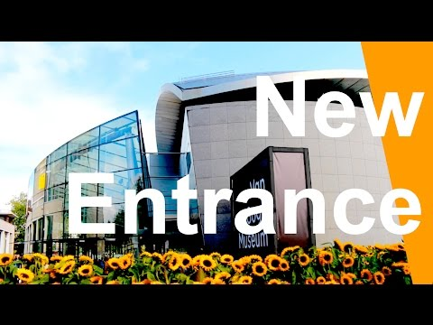 New Entrance Van Gogh Museum Amsterdam