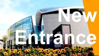 Amsterdam Van Gogh Museum New Entrance