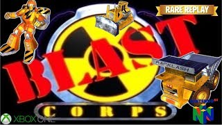 Blast Corps N64 | Xbox One Gameplay | Rare Replay | Retro Gaming | Throwback Thursday