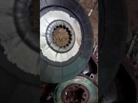 Разборка и ремонт тормоза трактора  МТЗ 82 ,замена дисков ручника