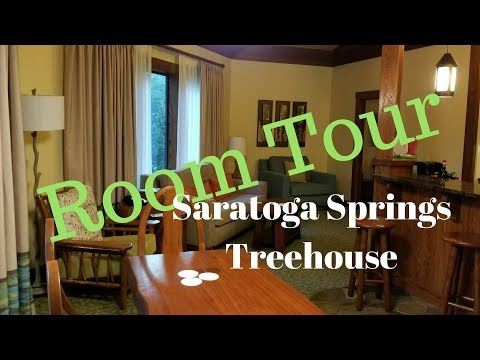 Saratoga Springs Treehouse Room Tour