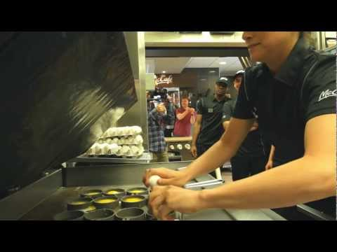 Real Egg Crackdown | McDonald's