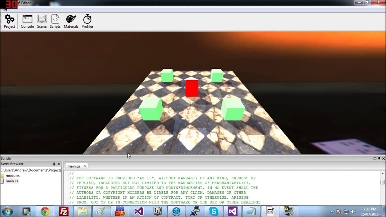 New Editor - Forums | Torque 3D