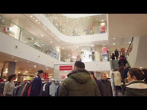 Inside John Lewis, Oxford Street Department Store - London Store Tour